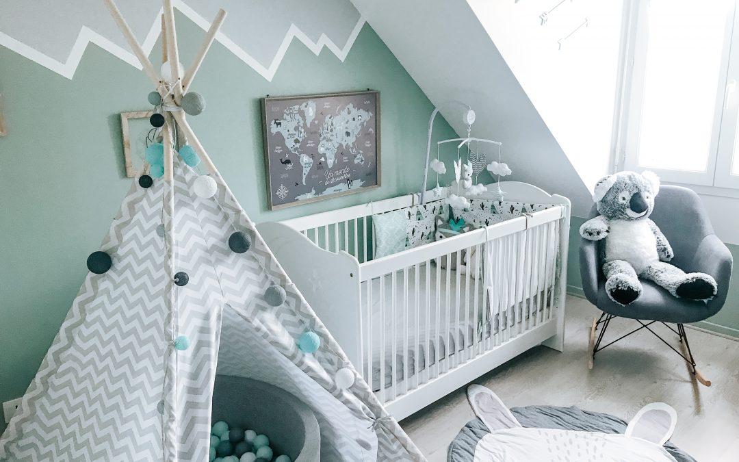 Chambre bébé I @aureliecherry